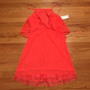NWT BCBGeneration Square Neck Layered Dress
